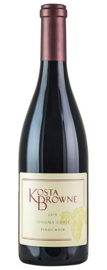 2019 Kosta Browne Pinot Noir Sonoma Coast