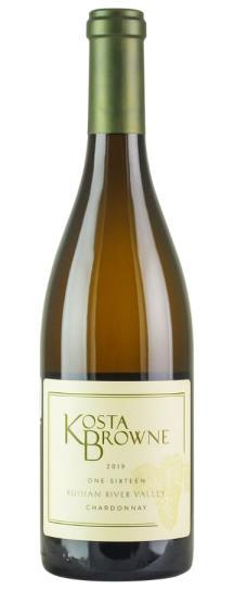 2019 Kosta Browne Chardonnay One Sixteen