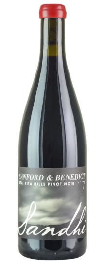 2017 Sandhi Sanford &  Benedict Pinot Noir