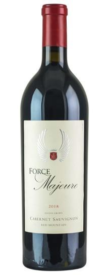 2018 Force Majeure Cabernet Sauvignon Red Mountain