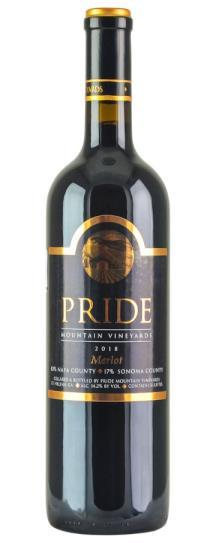2018 Pride Mountain Vineyards Merlot