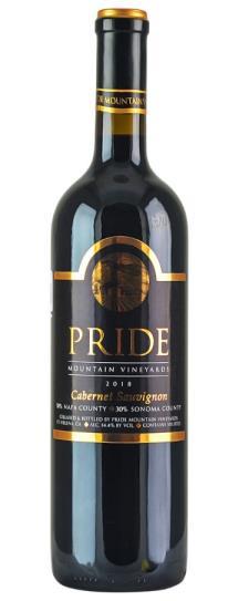2018 Pride Mountain Vineyards Cabernet Sauvignon