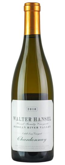 2018 Walter Hansel Winery Chardonnay Cahill Lane