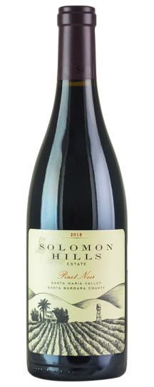 2018 Solomon Hills Winery Pinot Noir Solomon Hills Vineyard