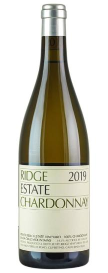 2019 Ridge Chardonnay Estate