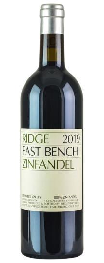 2019 Ridge Zinfandel East Bench