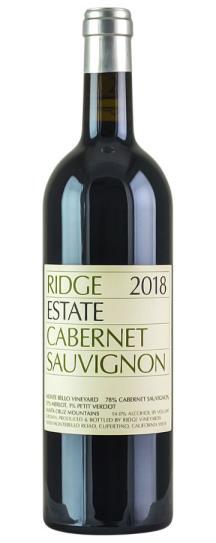 2018 Ridge Estate Cabernet Sauvignon
