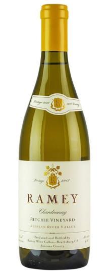 2018 Ramey Chardonnay Ritchie Vineyard