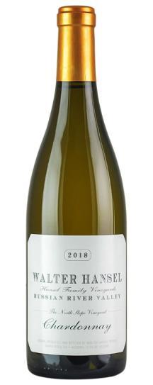 2018 Walter Hansel Winery Chardonnay North Slope