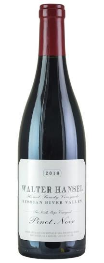 2018 Walter Hansel Winery Pinot Noir South Slope