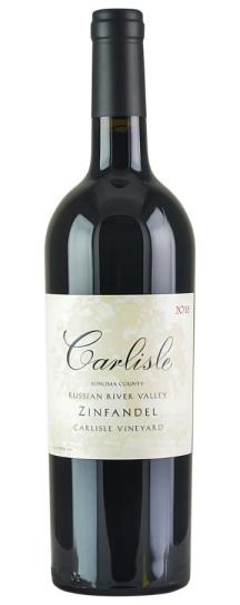 2018 Carlisle Winery Zinfandel Carlisle Vineyard