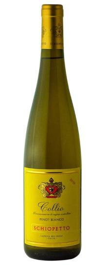 2019 Schiopetto Pinot Bianco