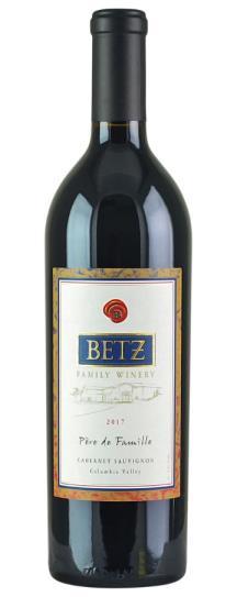2017 Betz Family Winery Cabernet Sauvignon Pere de Famille