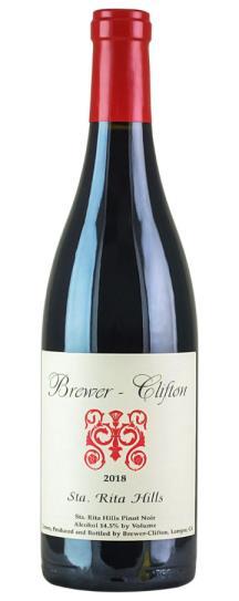 2018 Brewer-Clifton Pinot Noir Santa Rita Hills