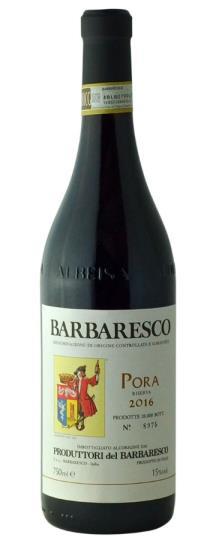 2016 Produttori del Barbaresco Barbaresco Riserva Pora