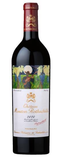 2020 Mouton-Rothschild Bordeaux Blend