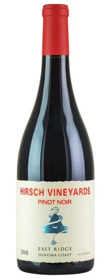 2018 Hirsch Vineyards East Ridge Pinot Noir