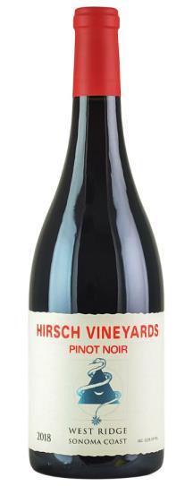 2018 Hirsch Vineyards West Ridge Pinot Noir