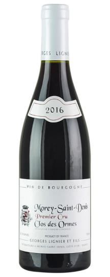 2016 Lignier, Domaine Georges Morey St Denis Clos des Ormes