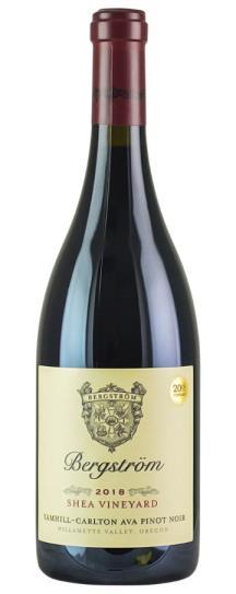 2018 Bergstrom Winery Shea Vineyard PInot Noir