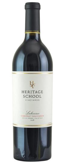 2018 Heritage School Vineyards Casey's Vineyard Cabernet Sauvignon