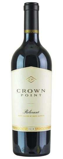 2018 Crown Point Relevant Happy Canyon Red Blend