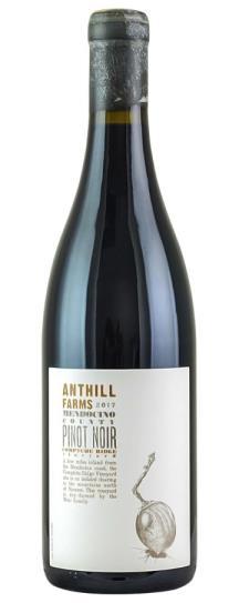 2017 Anthill Farms Pinot Noir Comptche Ridge