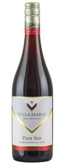 2018 Villa Maria Pinot Noir Private Bin