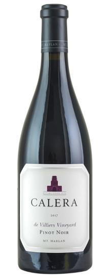 2017 Calera Pinot Noir de Villiers