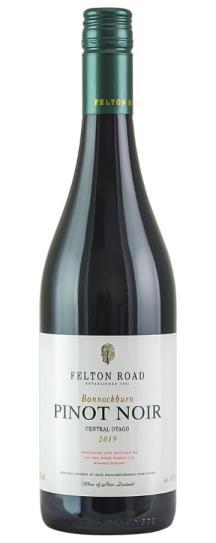 2019 Felton Road Bannockburn Pinot Noir