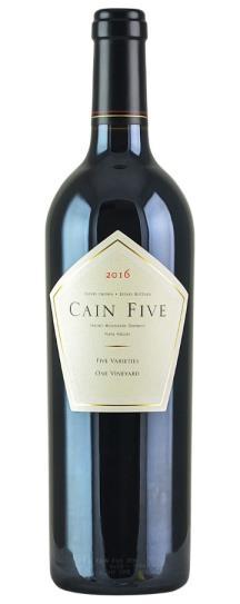 2016 Cain Cellars Cain Five