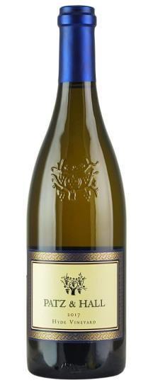2017 Patz and Hall Chardonnay Hyde Vineyard
