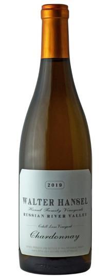 2019 Walter Hansel Winery Chardonnay Cahill Lane