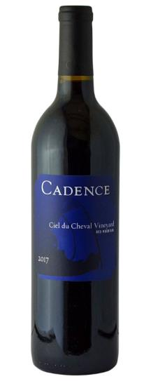 2017 Cadence Ciel du Cheval Vineyard