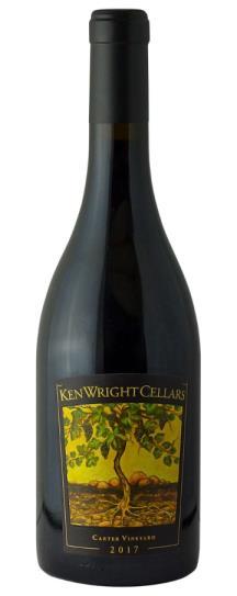 2017 Ken Wright Cellars Pinot Noir Carter Vineyard