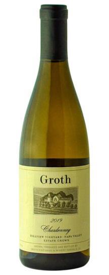 2019 Groth Groth Chardonnay Hillview Vineyard