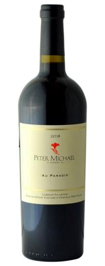 2018 Peter Michael Winery Cabernet Au Paradis