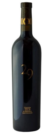 2018 Vineyard 29 Ceanda Cabernet Sauvignon